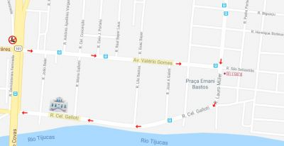 Rua Coronel Gallotti e Avenida Valério Gomes